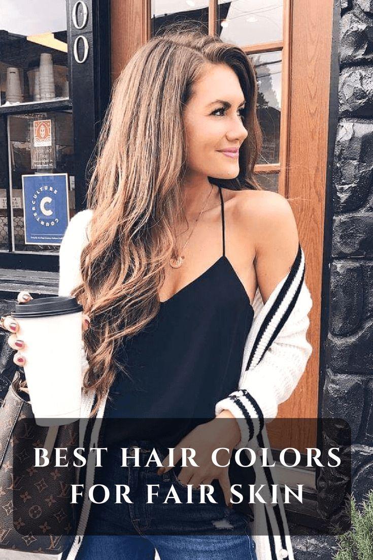 Haircuts For Long Hair Seven Hair Color Ideas For Fair Skin