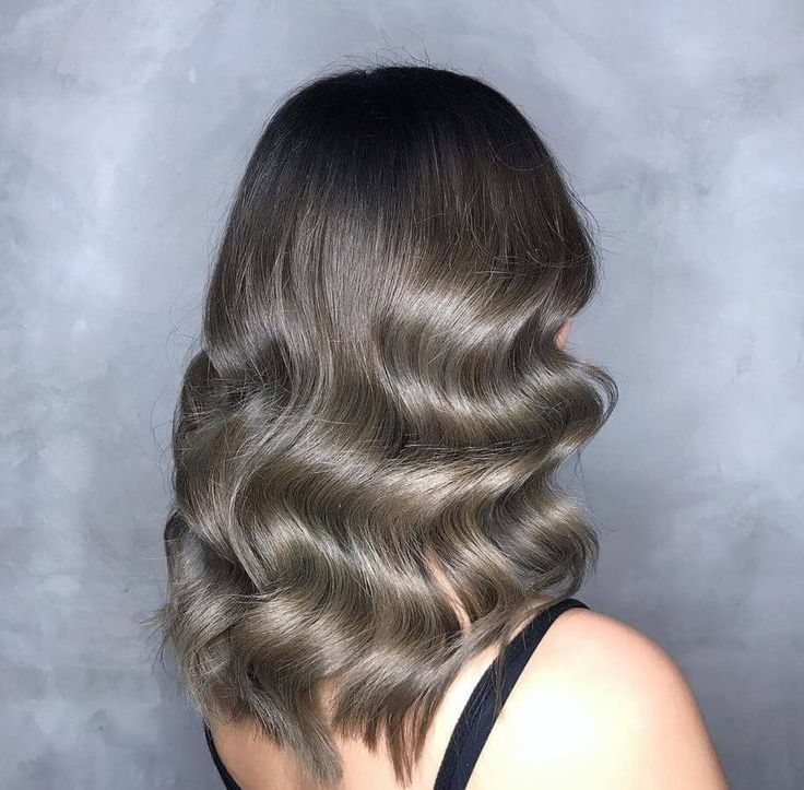 Haircuts For Long Hair This Retro Finger Waves Inspired Look Is