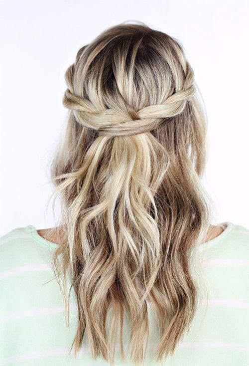 Hairstyle Tresses Demi Tresses Coiffure Boheme Jpg Beauty Haircut