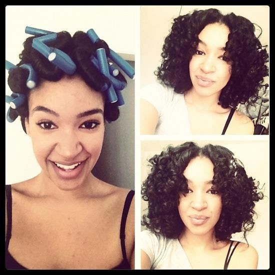heat less curls with flexirods