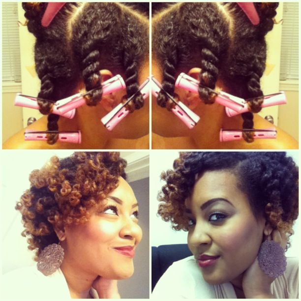 Naturel Hair Care Perm Rods Natural Hair How To Twist Out