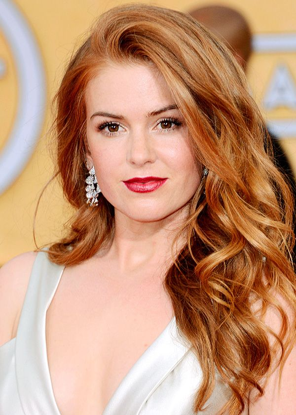 Red Hair Color Coiffures Tendance Cheveux Roux Loulou