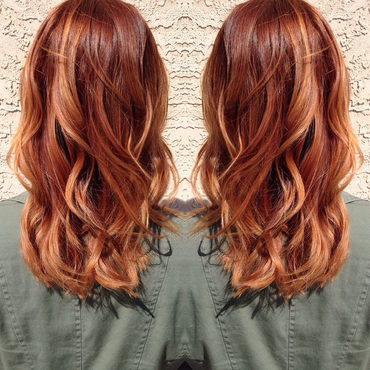 Red Hair Color Medium Copper Blonde Hair Beauty