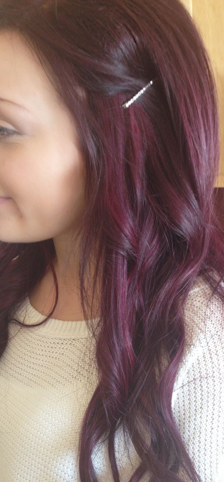 Red Hair Color Purple Burgandy Red Hairlove Love Love My Hair