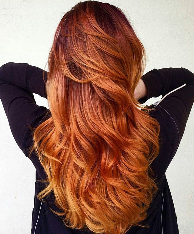 Red Hair Color This Is By Hannah Nicole