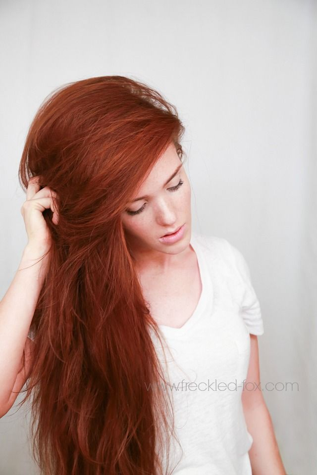 The Freckled Fox - a Hairstyle Blog: Hair Tutorial: my no-nonsense blow dry for ...
