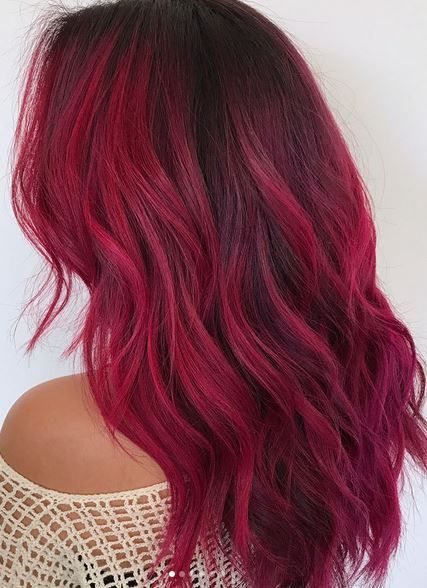 Red Hair: Seasonal Red Hair Ideas