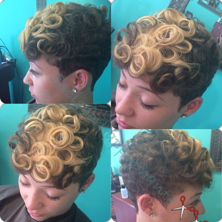 Curls curls and More curls - www.blackhairinfo... #cut #color #curls