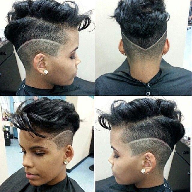 Cute Cut @mesicuts - www.blackhairinfo... #haircut #shorthair