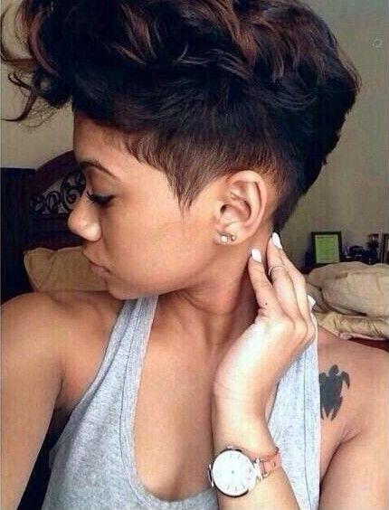 Cuuute!! - www.blackhairinfo... #haircut #color #shortcut