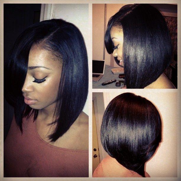 Just Lush! - www.blackhairinfo... #longbob #haircut #thatshine