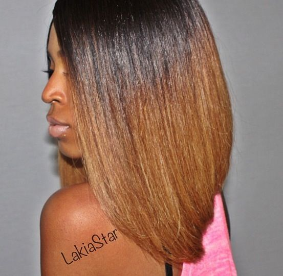 Pretty - community.blackha... #relaxedhairstyles