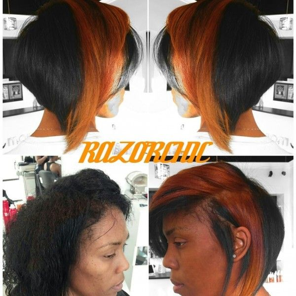 Stunning Style By Razorchic - www.blackhairinfo... #haircut #color