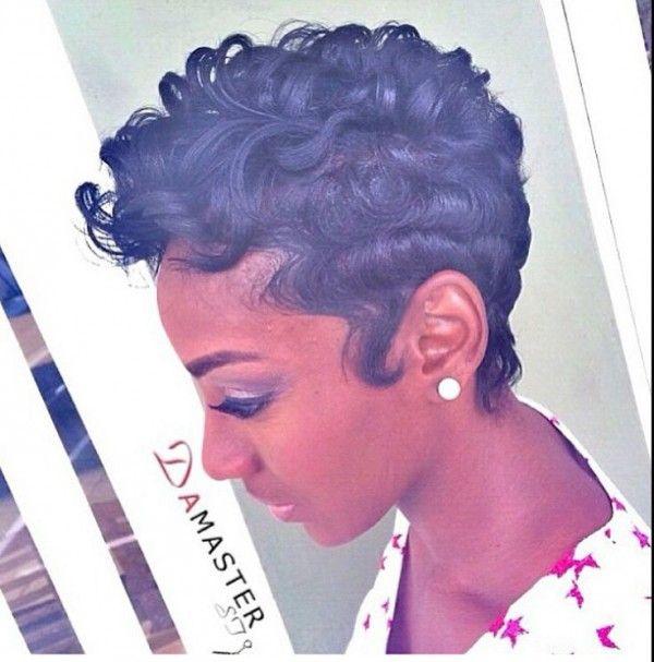 That's sharp - www.blackhairinfo... #haircut #cutestyle