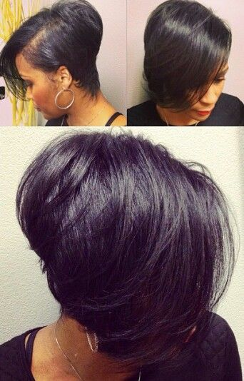 This Bob Right Here! - www.blackhairinfo... #relaxedhairstyles