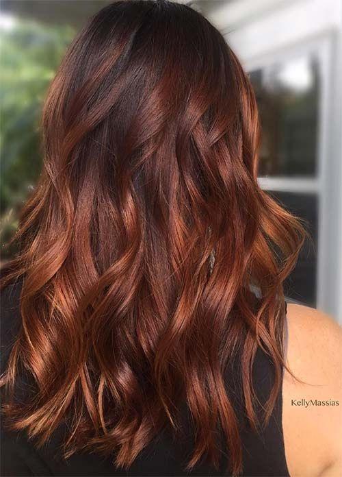 Trendy Hair Color Highlights 50 Magnifiques Couleurs Cheveux