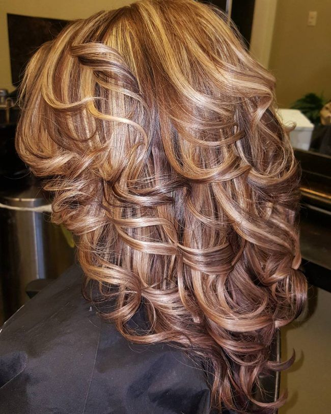 Trendy Hair Color Highlights Brown Hair Highlights And Lowlights