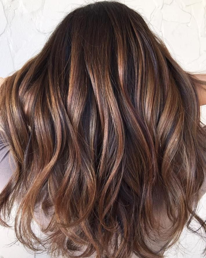 Trendy Hair Color Highlights Brown Hair With Balayage Highlights