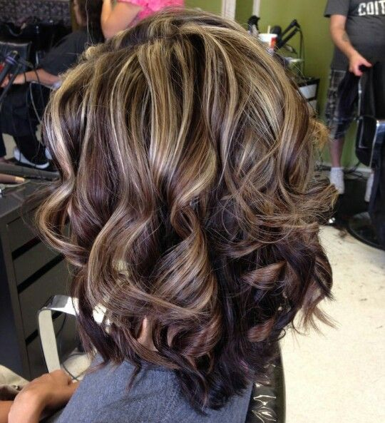 Trendy Hair Color Highlights Brown Hair With Highlights Beauty
