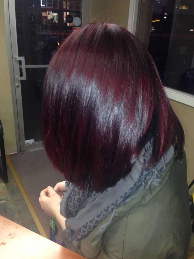 Trendy Hair Color Highlights Burgundy Hair Thanks To My