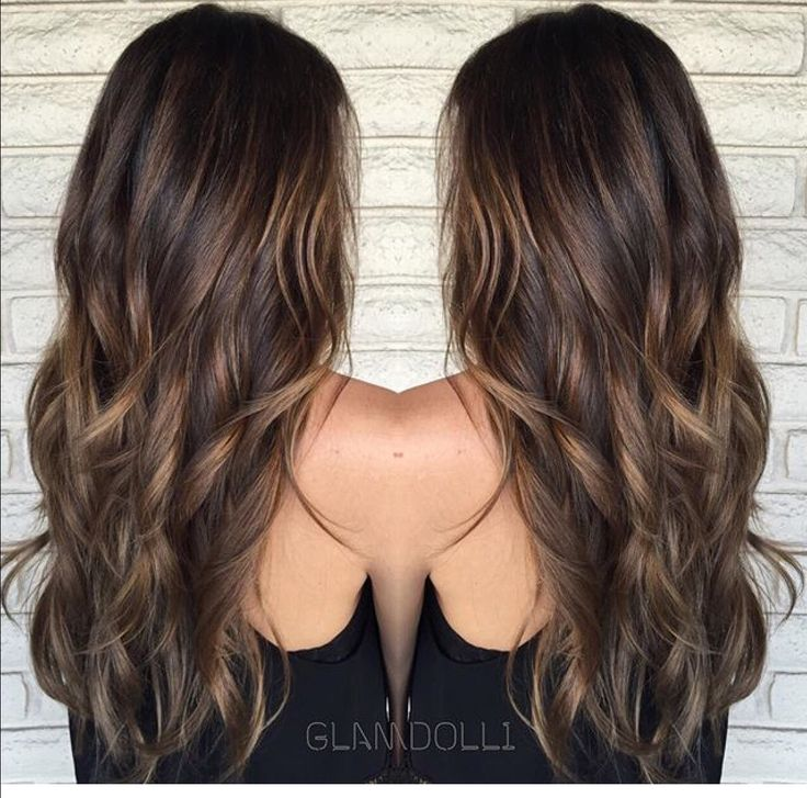 Trendy Hair Color - Highlights : Caramel balayage - Beauty Haircut ...