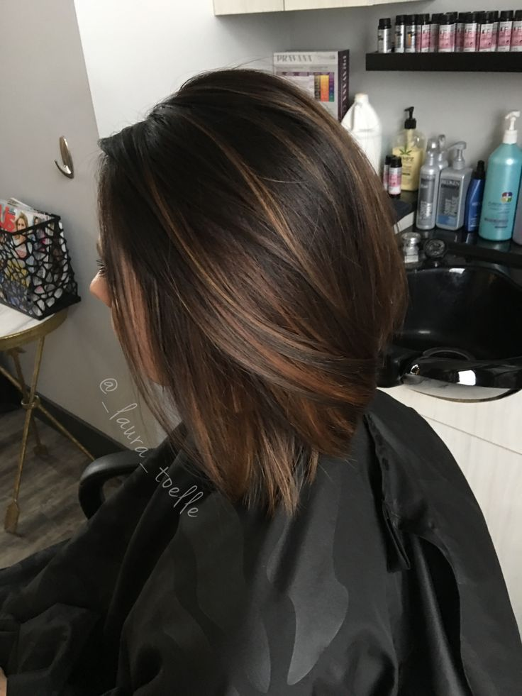 Trendy Hair Color Highlights Caramel Highlights Dark Brown Hair