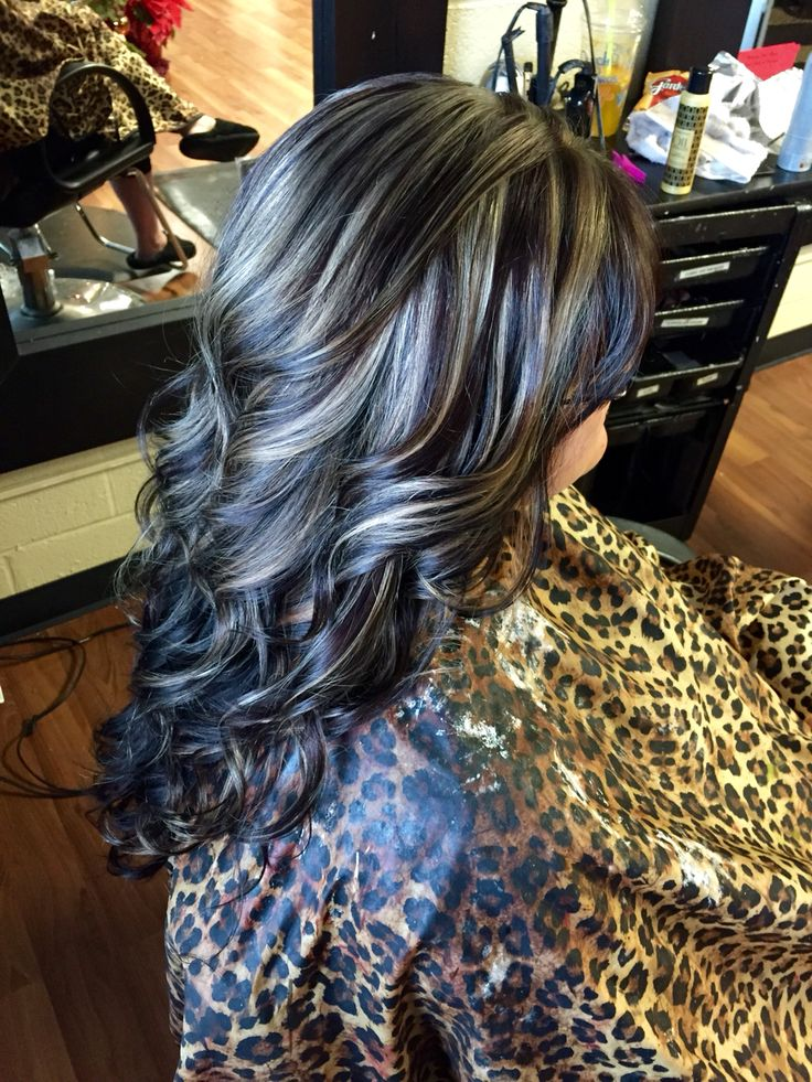 Trendy Hair Color Highlights Dark Brown With Blonde Highlights
