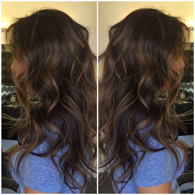 Trendy Ideas For Hair Color Highlights Dark Brown With Soft