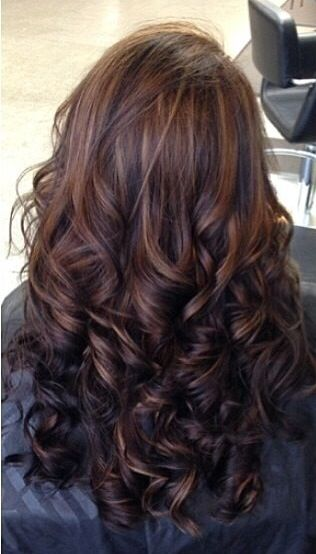 Trendy Hair Color - Highlights : Different shades of brown hair ...