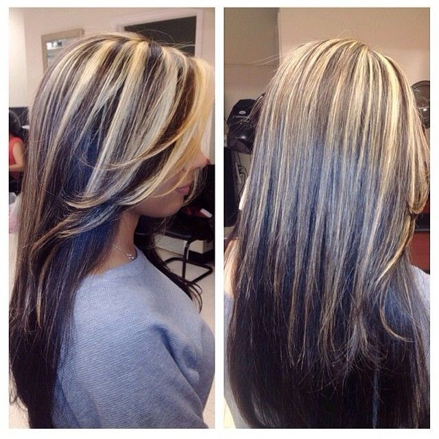Highlight Ideas For Dark Hair 7000 Hair Highlights