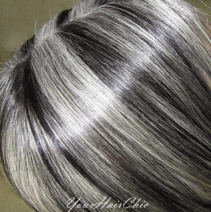 Trendy Hair Color Highlights Gray Hair With Lowlights Favorable
