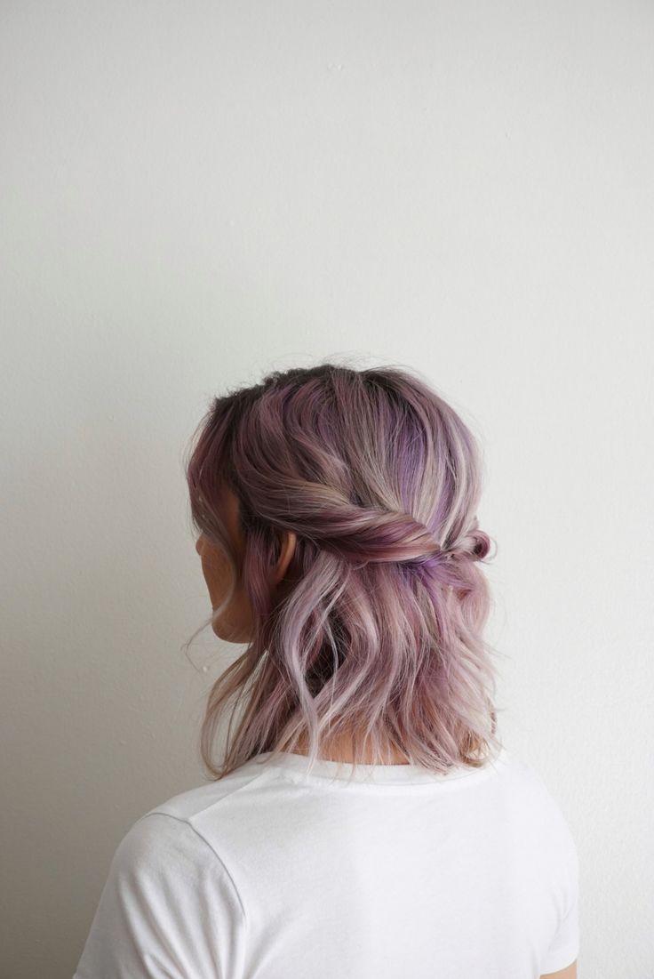 Trendy Hair Color Highlights Hair Twist Short Hair Beauty