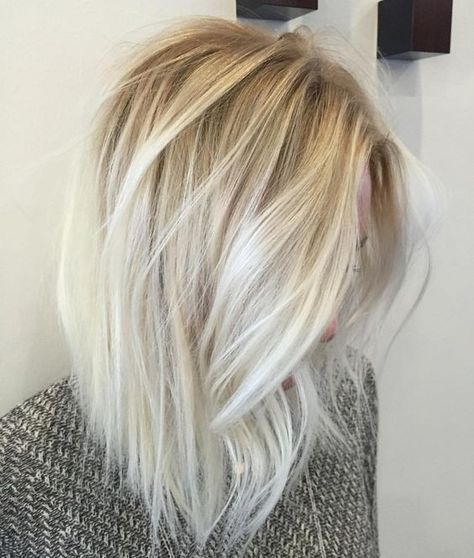 Trendy Hair Color Highlights Light Blonde Balayage Hairstyles