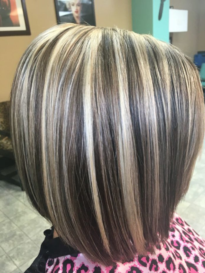 Trendy Hair Color Highlights Light Blonde Highlights And