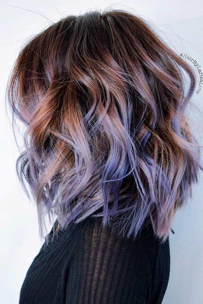 21 Pastel Purple Hair Color Trend