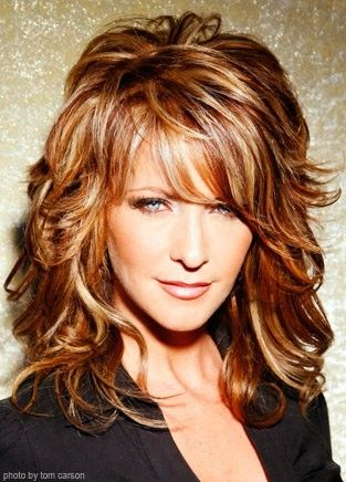 This style has copper, blonde, brown highlights and low lights throughout with l...