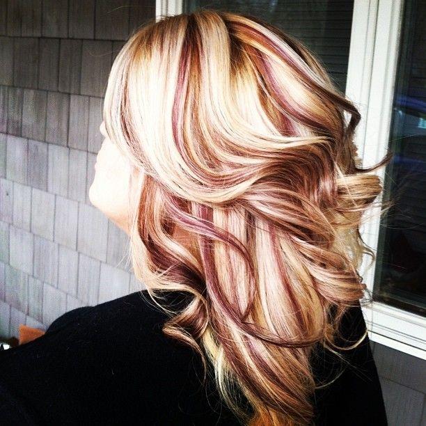 Trendy Hair Color Highlights Blond Peekaboos Google Search I