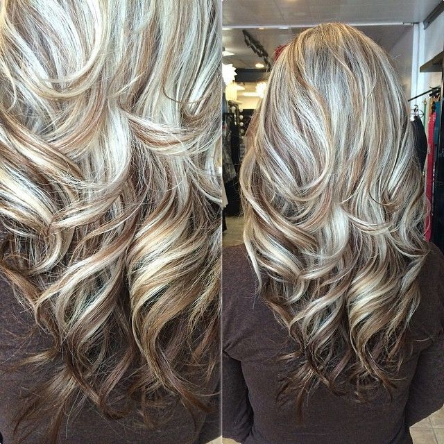Trendy Hair Color Highlights Blonde With Brown Low Lights