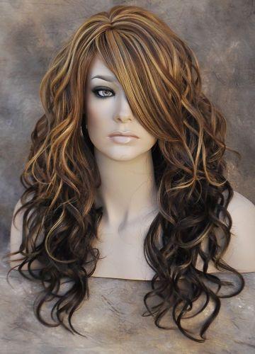 Trendy Hair Color Highlights Chestnut With Blonde Auburn