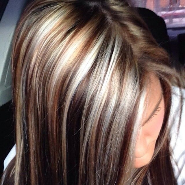 Trendy Hair Color Highlights For Dark Hair With Brown Highlights