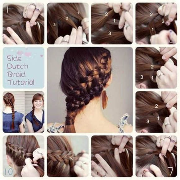 10 Ways to Make Lovely DIY Side Hairstyles | Latest Bob HairStyles