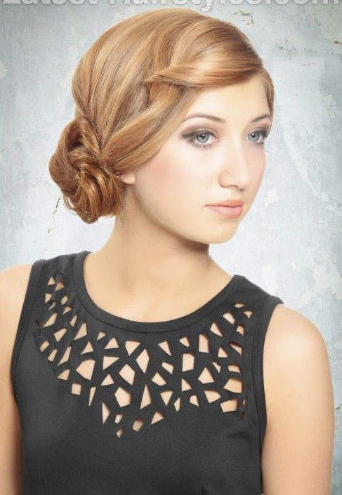 11 Fabulous Updo Hairstyles for Long Hair Girls