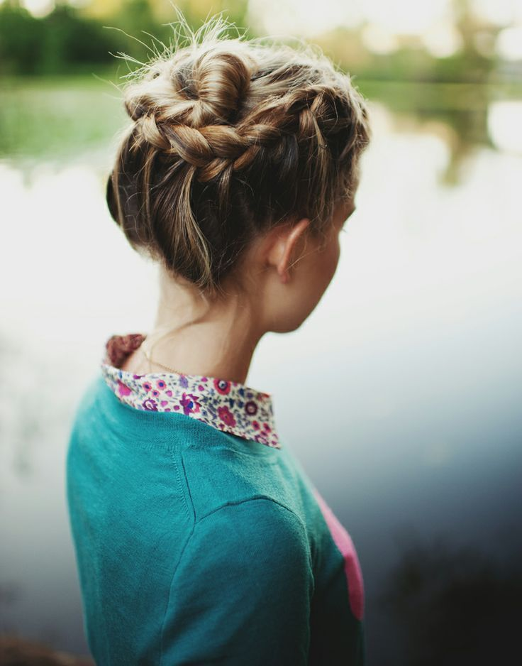 Trendy Haircuts 12 Braided Buns For Everyday Look Latest Bob Hairstyles Page 2 Beauty Haircut Home Of Hairstyle Ideas Inspiration Hair Colours Haircuts Trends