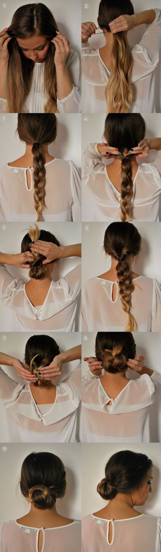 13 Fantastic Hairstyle Tutorials for Ladies | Latest Bob HairStyles