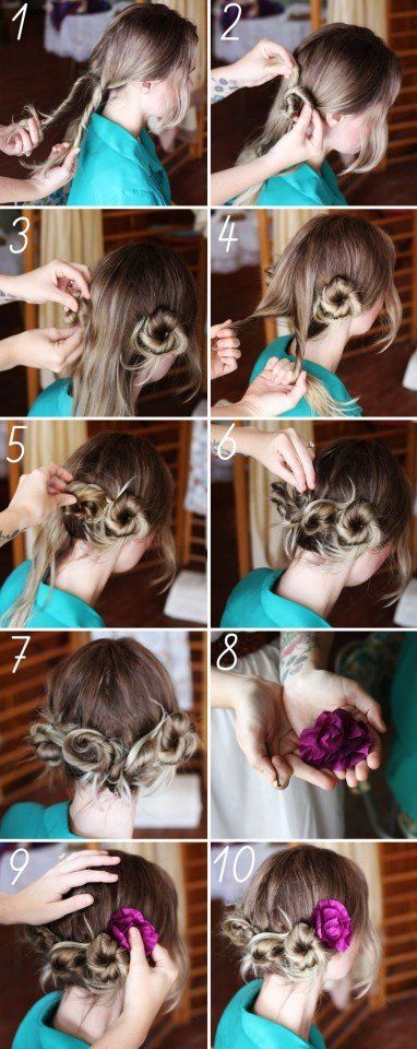 13 Fantastic Hairstyle Tutorials for Ladies
