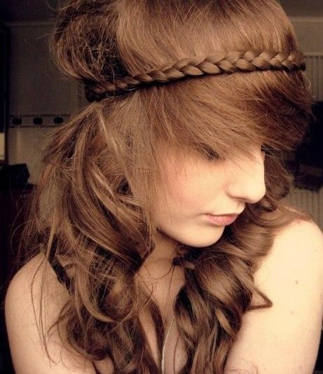 Trendy Haircuts Braided Hairstyles For Long Wavy Hair Beauty