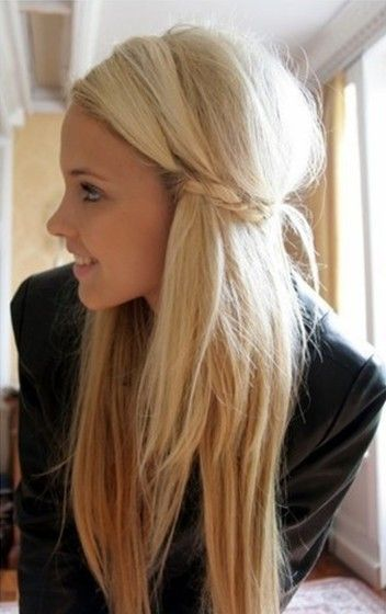 Trendy Haircuts Cute Girls Hairstyles Bride With Straight Long