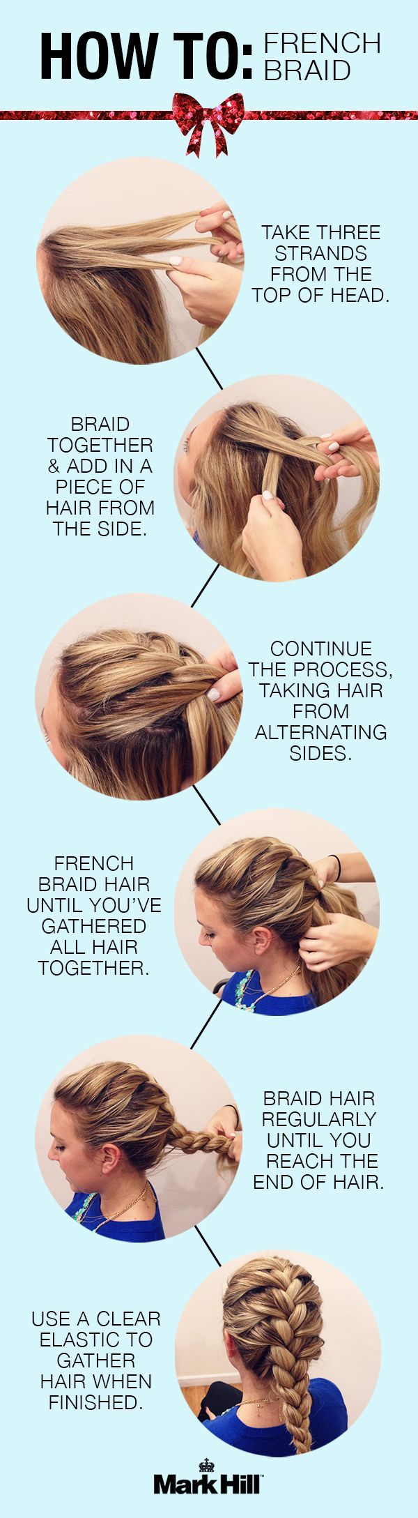 Pretty Hairstyles: French Braid Tutorials