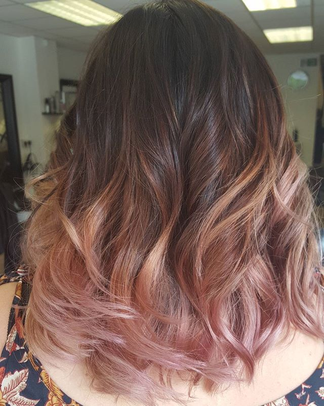 Trendy Ideas For Hair Color Highlights 38 Rose Gold Hair Color