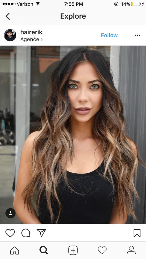 Trendy Ideas For Hair Color - Highlights : Hair color, but length is ...